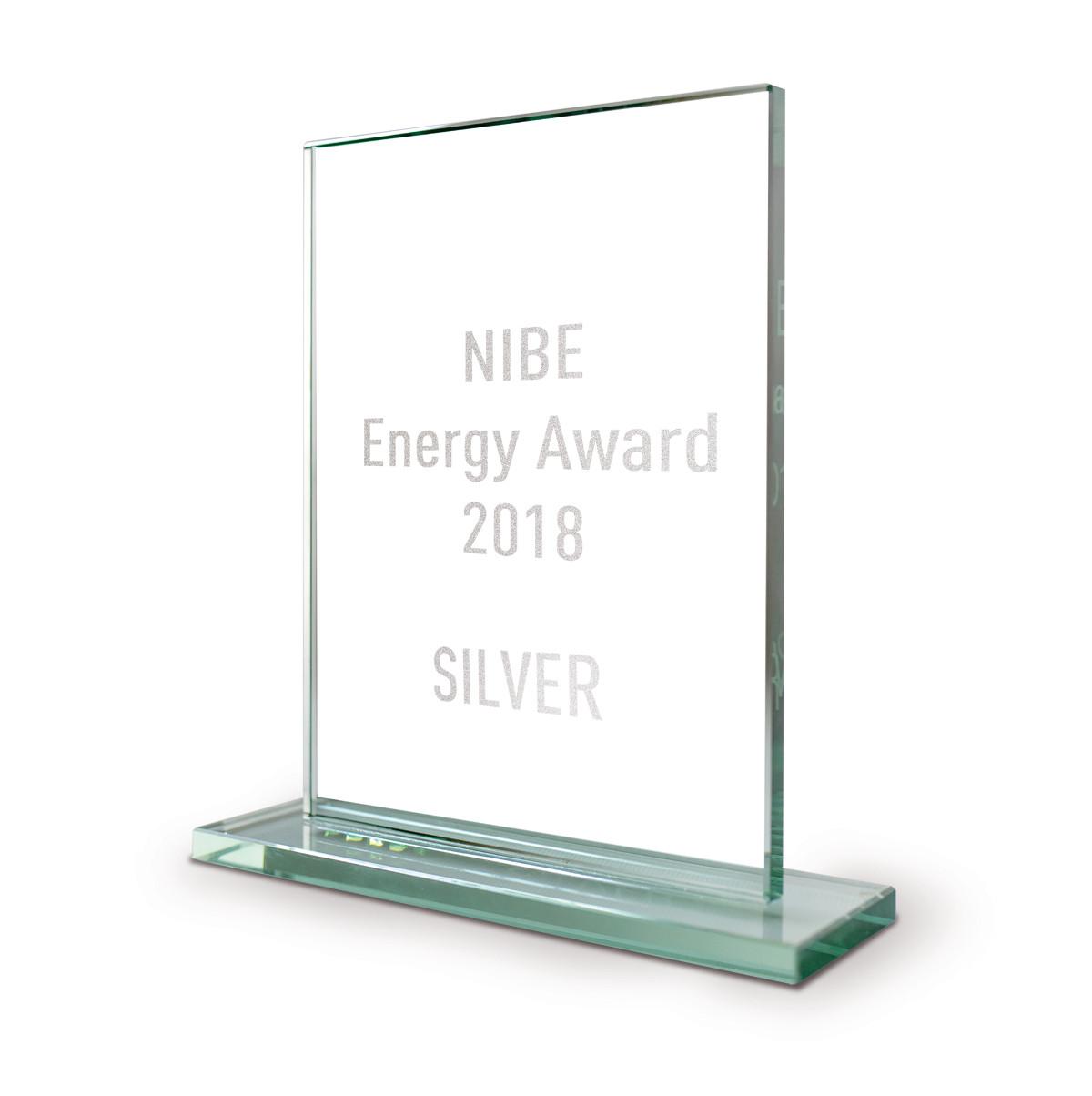 Награда от NIBE AB за продажи в 2018 году
